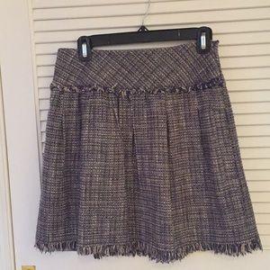 BCBG tweedy skirt
